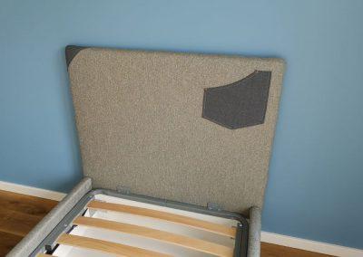1012. Тапицирана легло по поръчка за детска стая